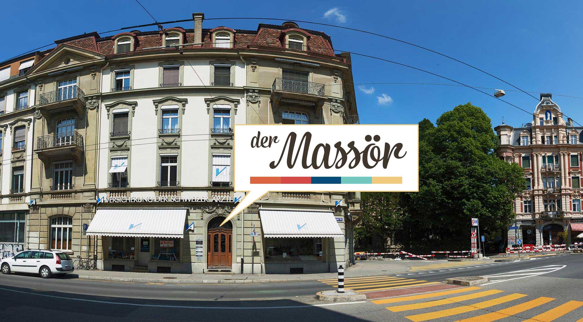 der Massör - Studio Aussenansicht - Länggassestrasse 8, Bern